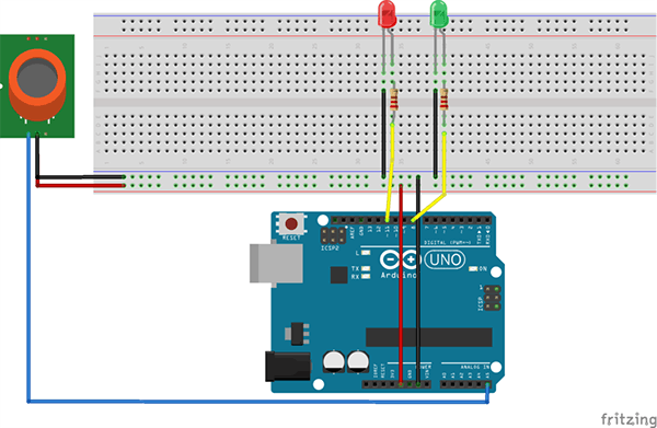 MQ-4 Natural Gas Sensor Experiment Based on Arduino - Hackster io