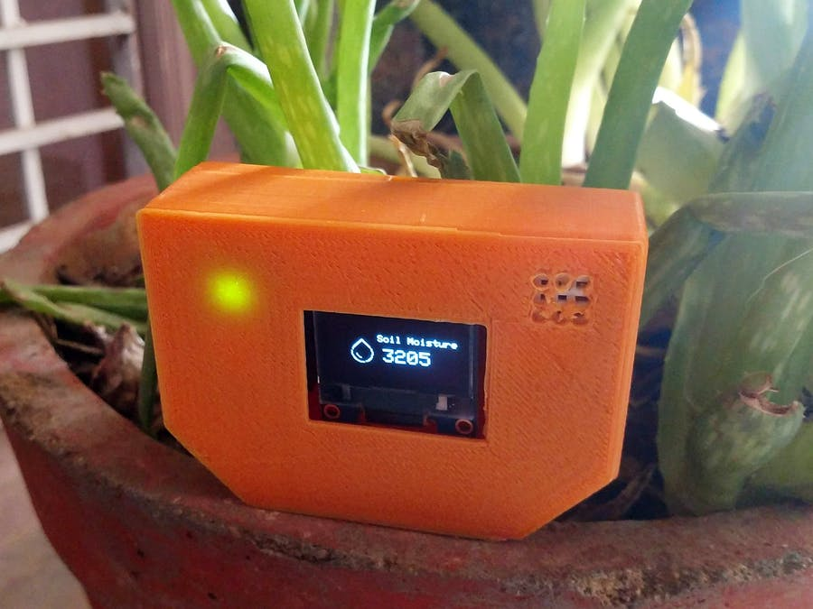 Smart Plant Care System Using Particle Photon