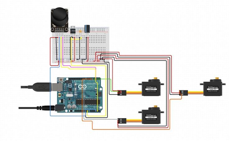 robot arm circuit