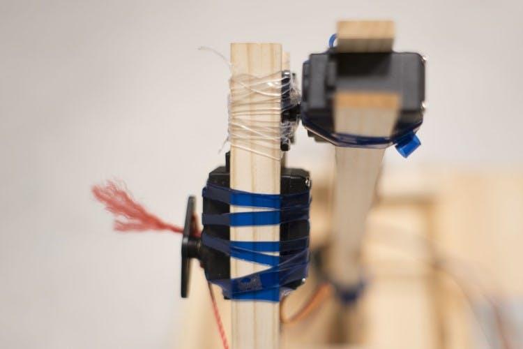 Robot arm motors