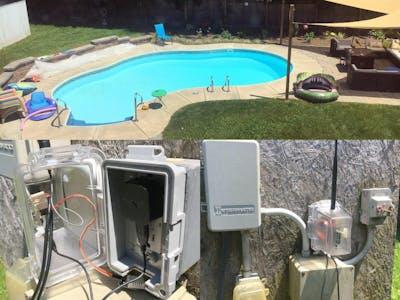 Pool Graph - Swimming Pool Monitor