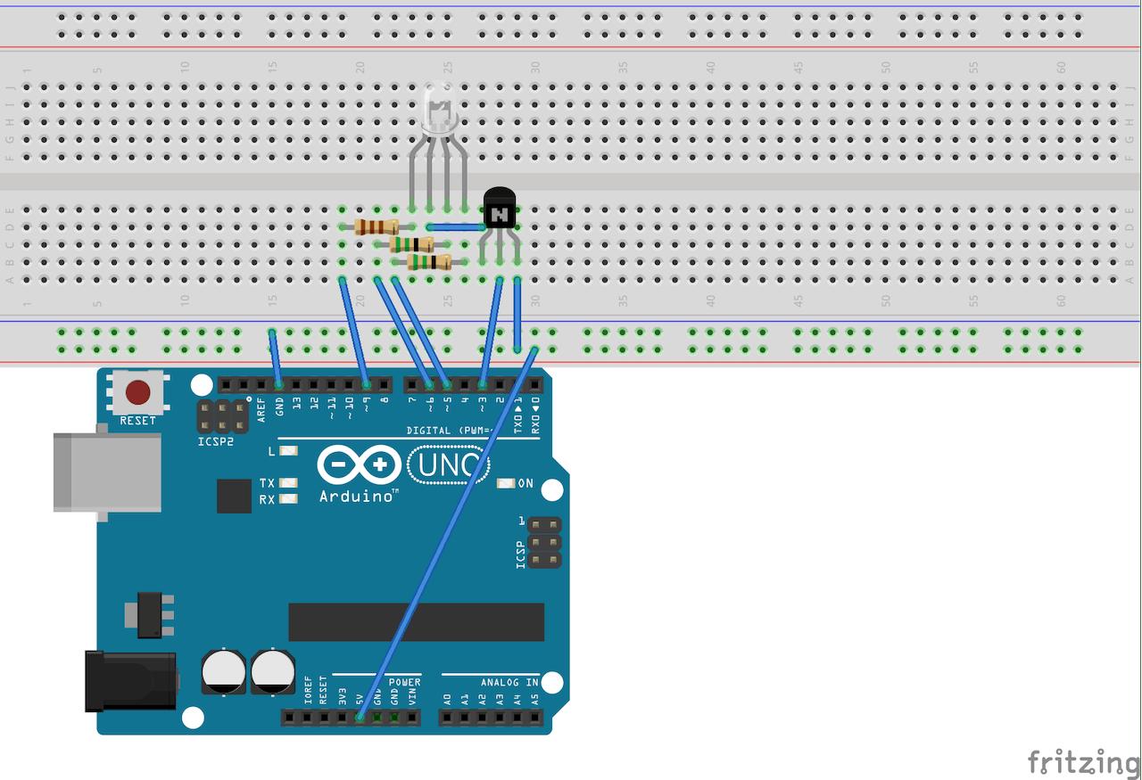 RGB Light Control with Arduino - Hackster io