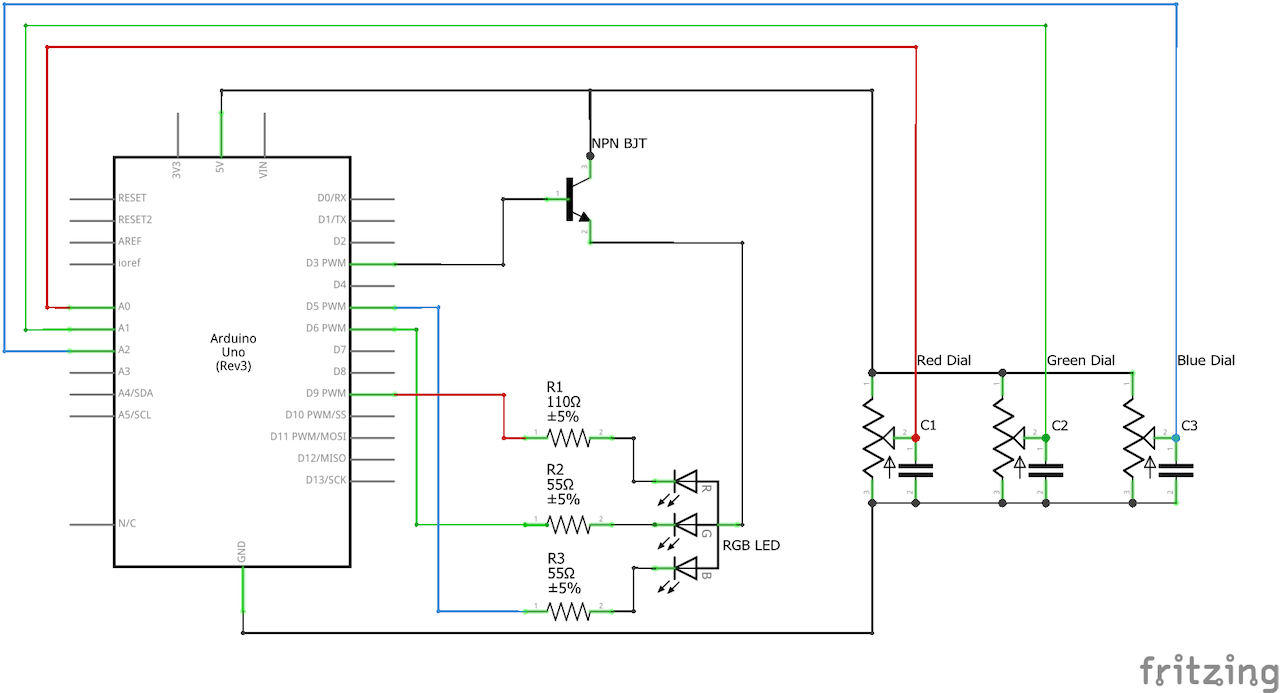 Rgb Light Control With Arduino Led Pwm Dimmer Using Ne555