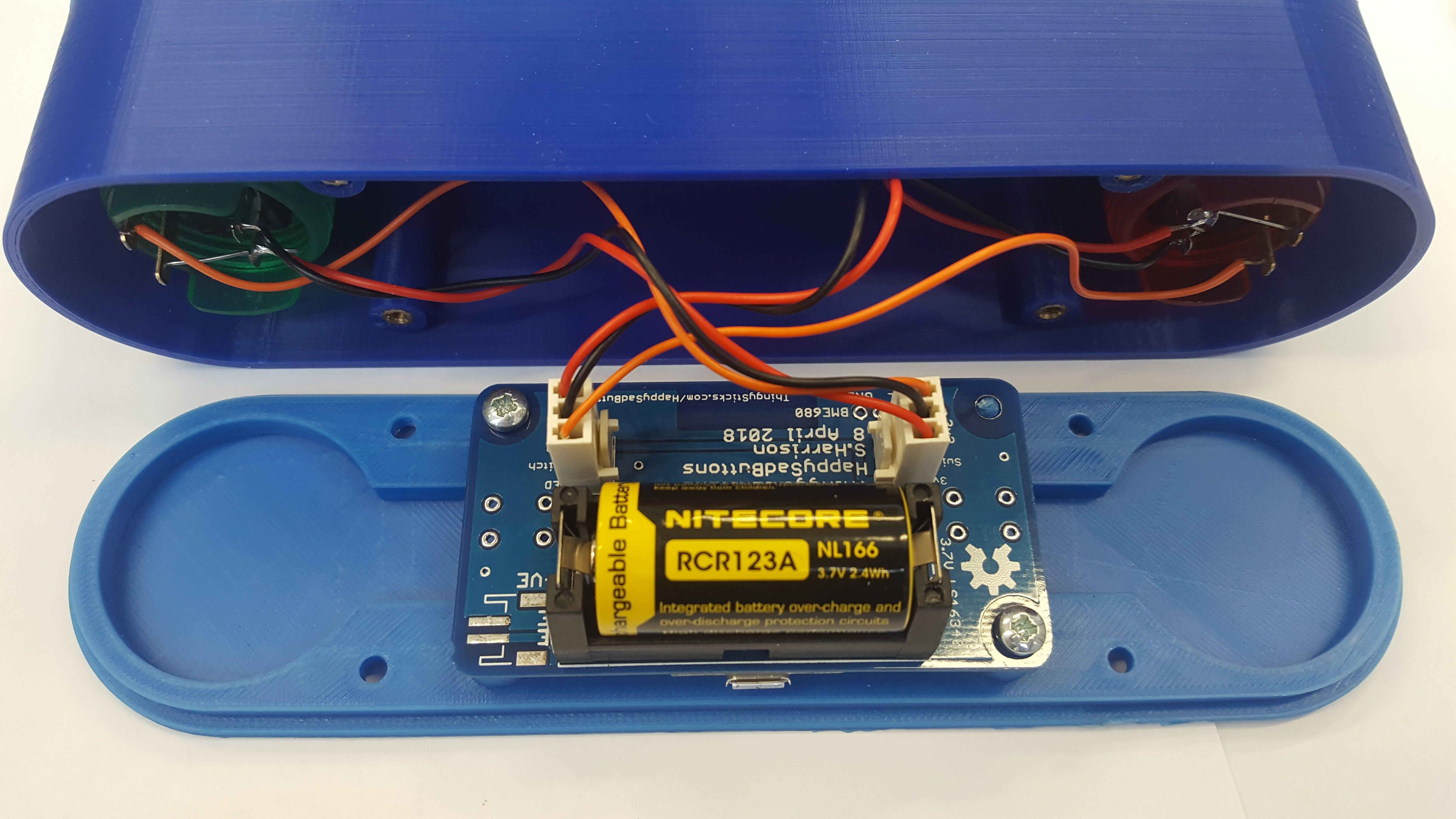 Clashing battery options (bottom left)