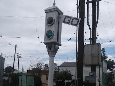 Acme Traffic Signal (Almost 100 Years Old)