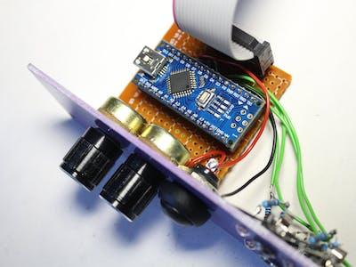 "Modular synth clock module DIY ARDUINO, ""SM Tik-Tak"""