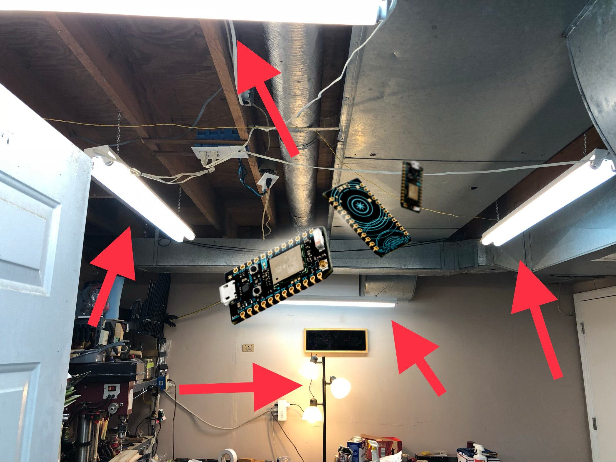 Internet of Shop Lights