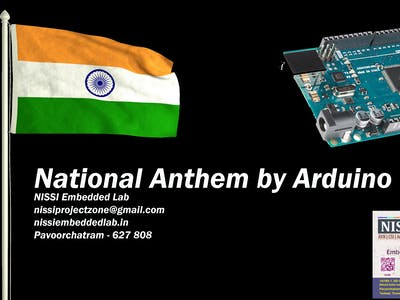 Arduino Plays Indian National Anthem