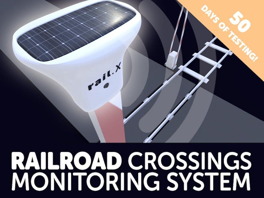 rail.X: Monitoring Railroad Crossings for You