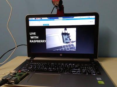 Live Cam with Raspberry Pi