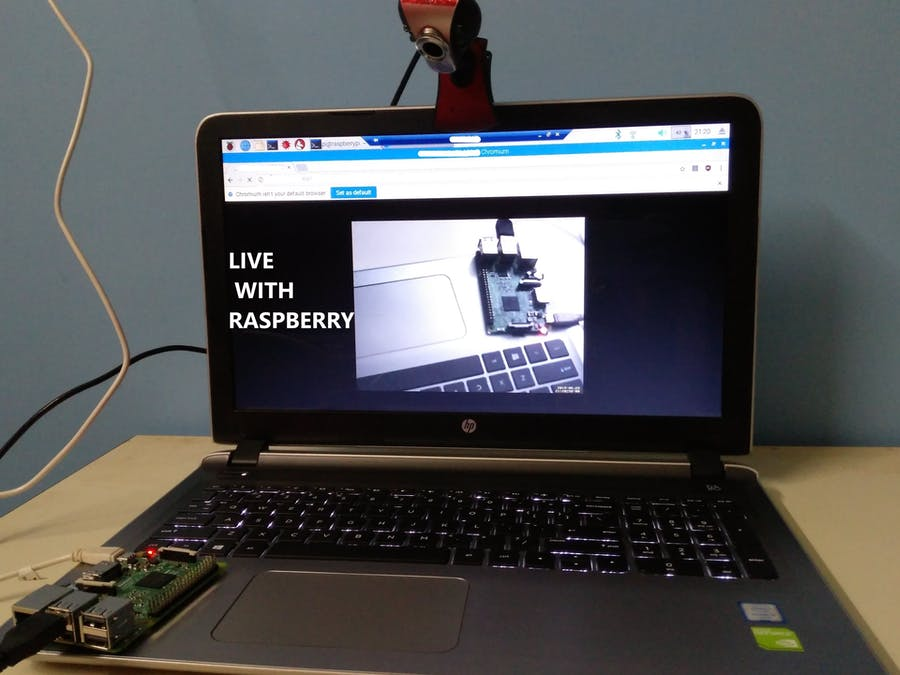 Live Cam with Raspberry Pi - Hackster io