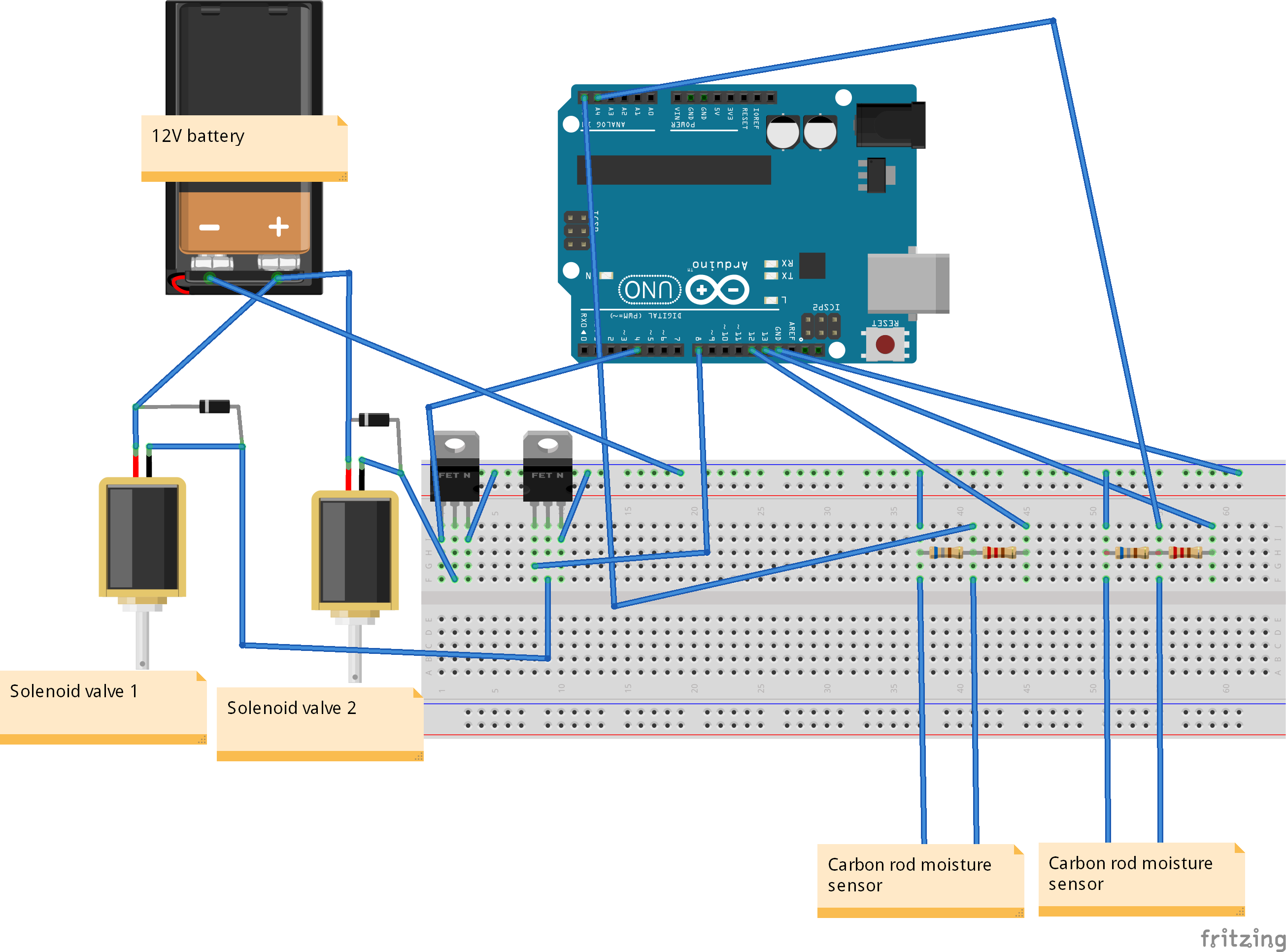 Automatic Watering System - Hackster.io
