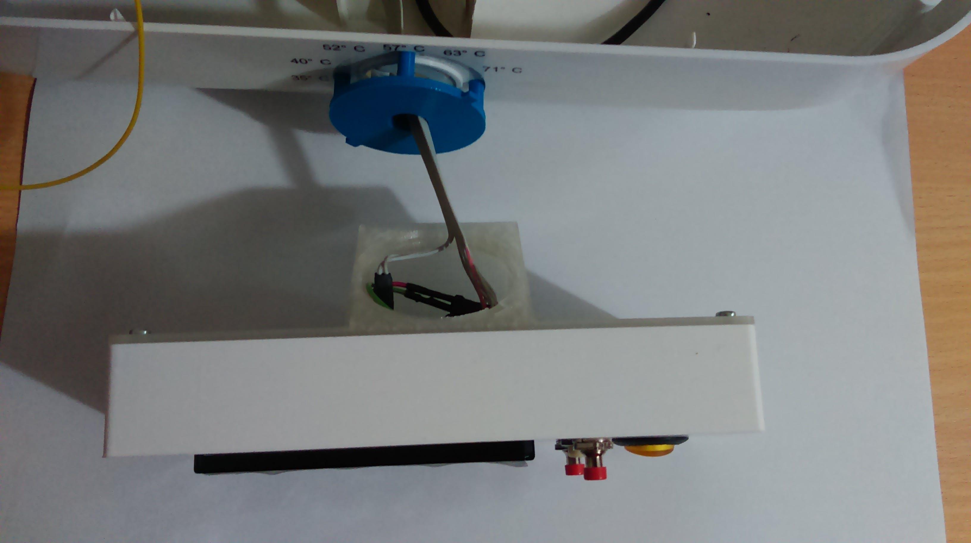 LCD mount assy.