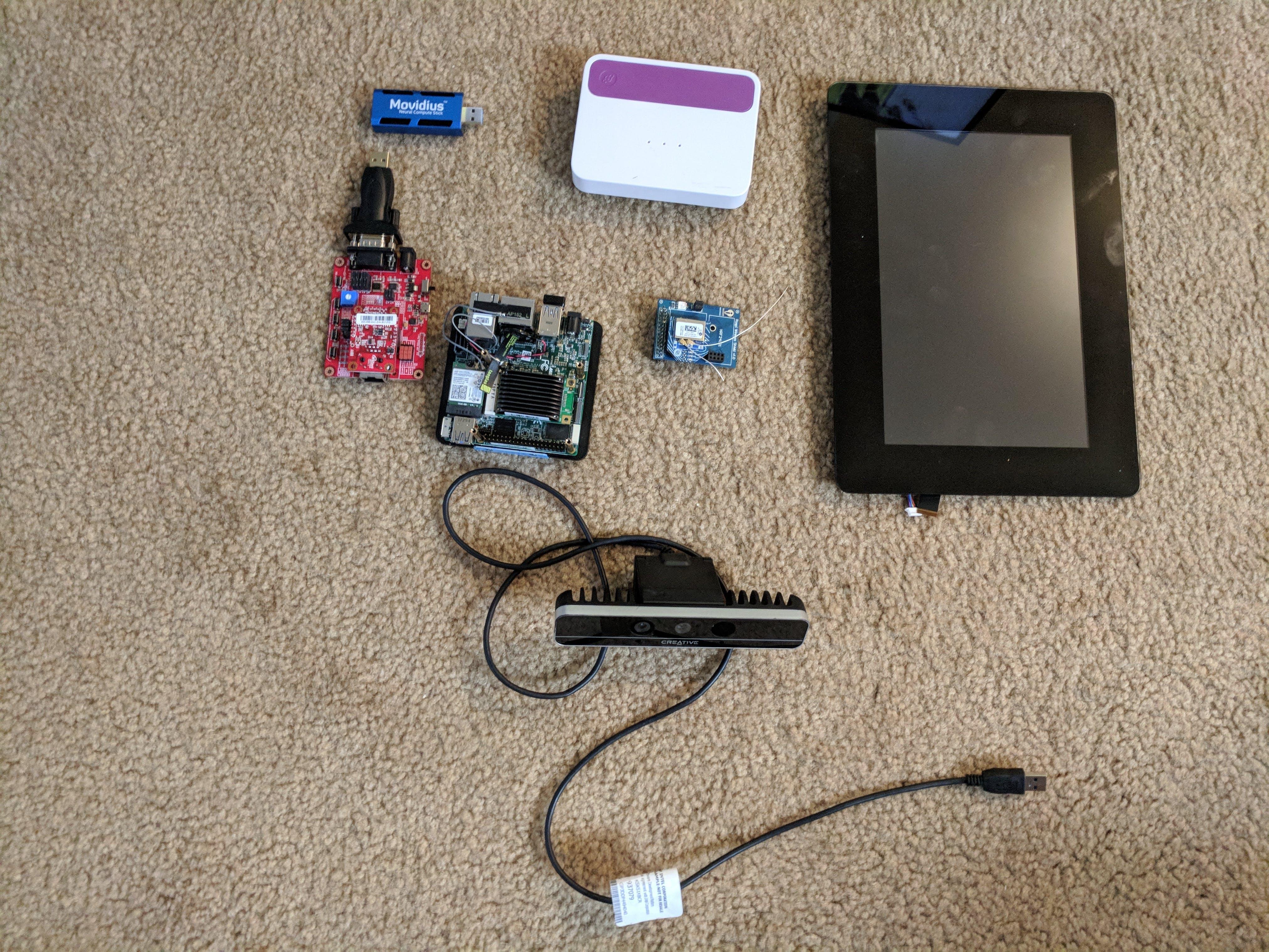 AI Vision Monitor components