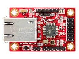The WIZ750SR Serial to Ethernet converter