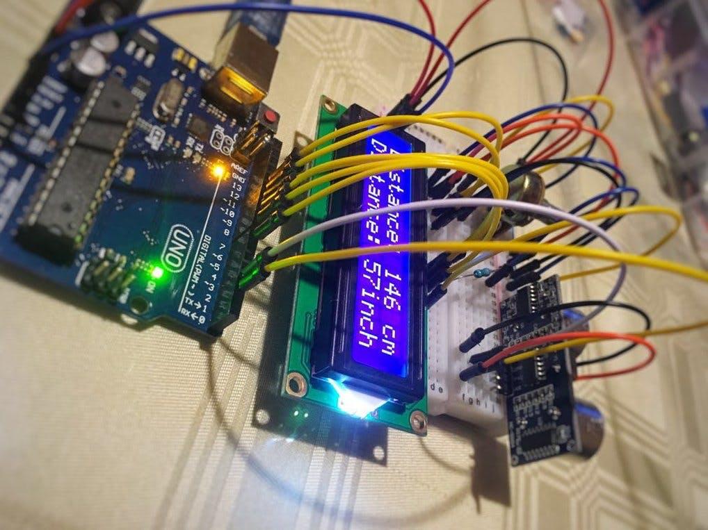 Proximity Sensor with LCD