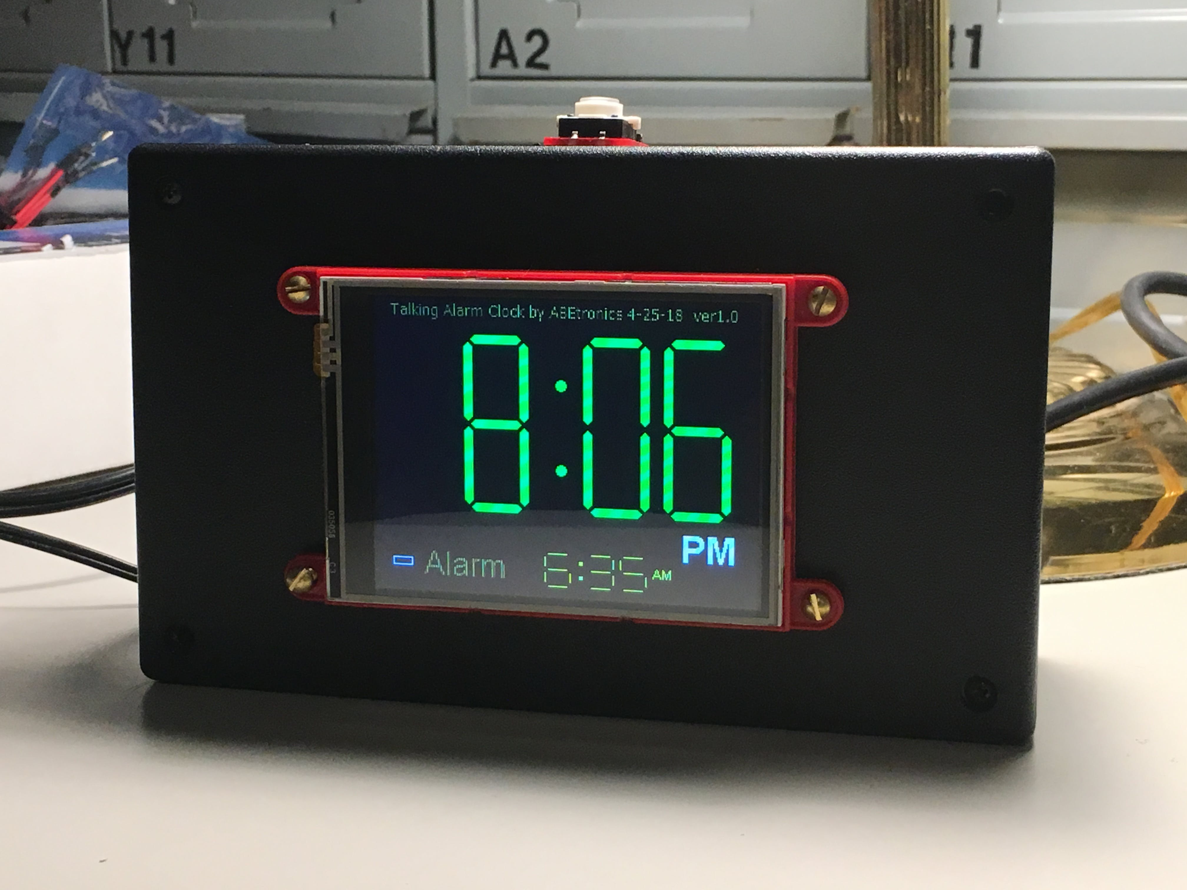 The Talking Alarm Clock