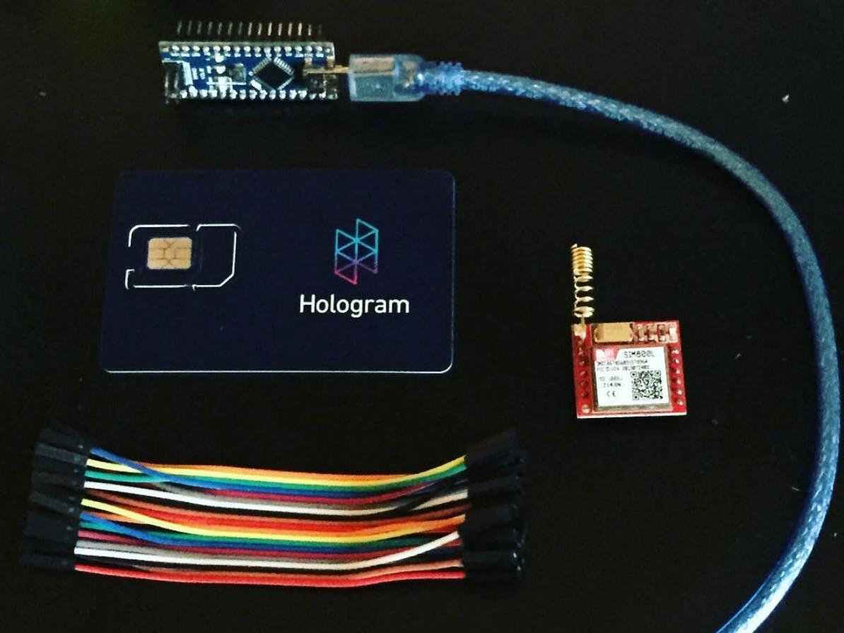 Cellular IoT with Blynk & Hologram