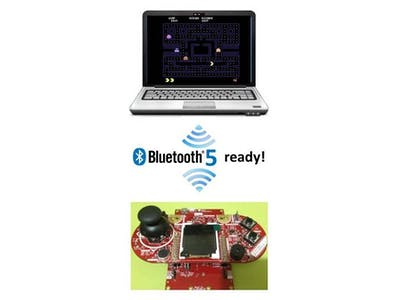 Bluetooth Low Energy Game Controller