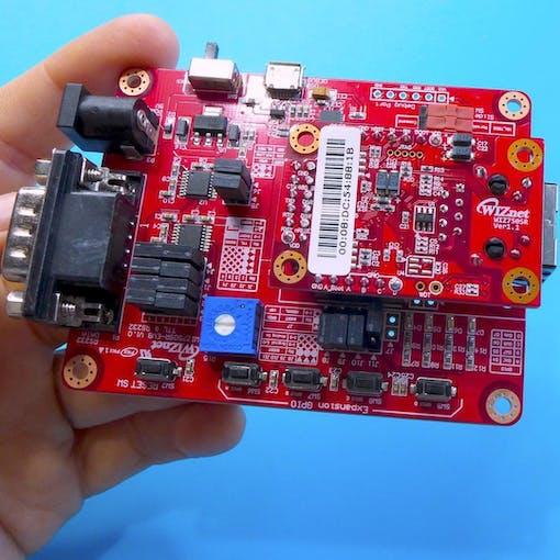 WIZnet bundle- we will only use WIZ750SR