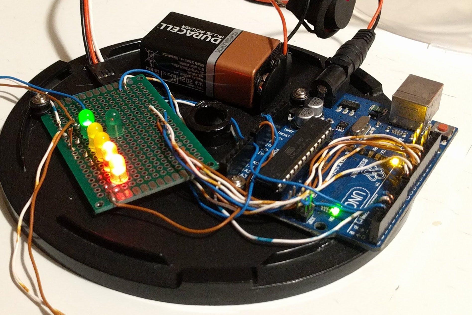 Zoom on circuit.