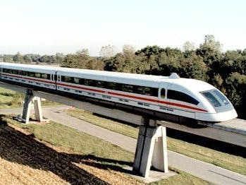 Arduino MagLev Train