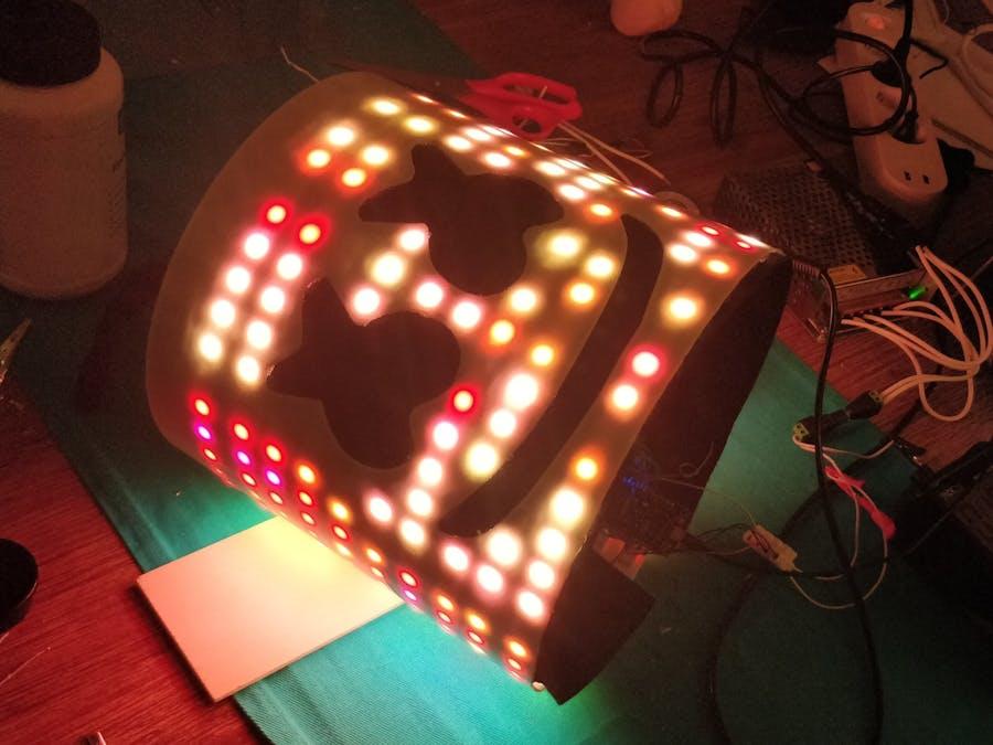Marshmello LED Hat