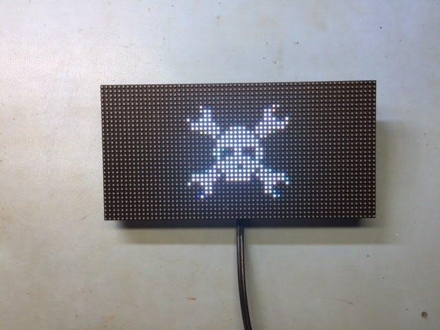 ESP8266 64x32 RGB LED Matrix - Hackster io