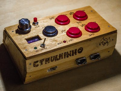 Cthulhinho: A MIDI Controller
