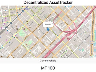 Mesh Fleet Tracking with Blockchain & Custom Cryptocurrency
