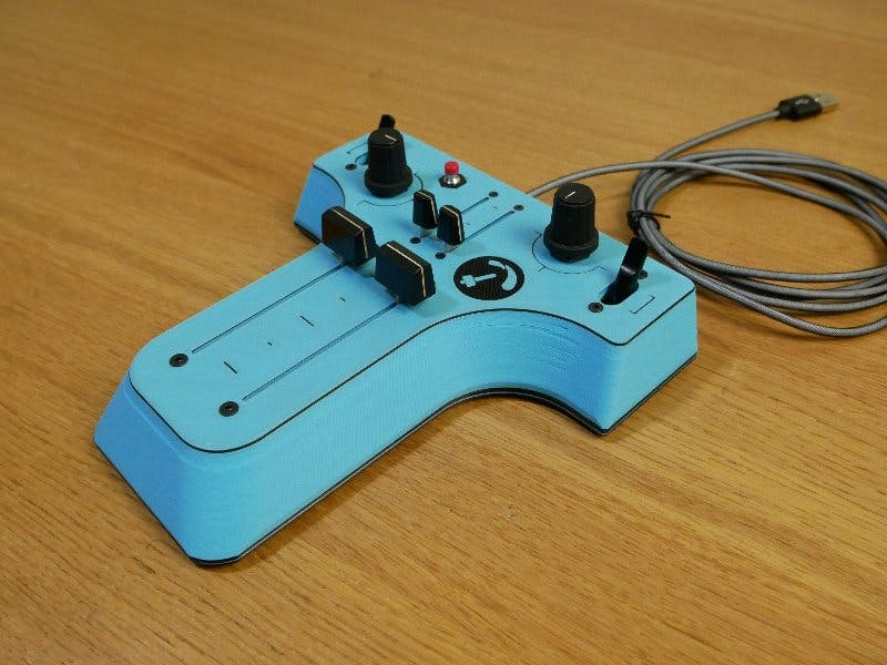 DIY Controller for Paragliding Games