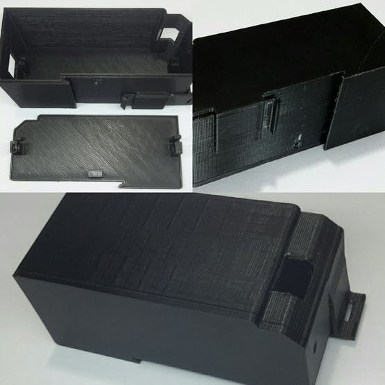 Din Rail 3D enclosure