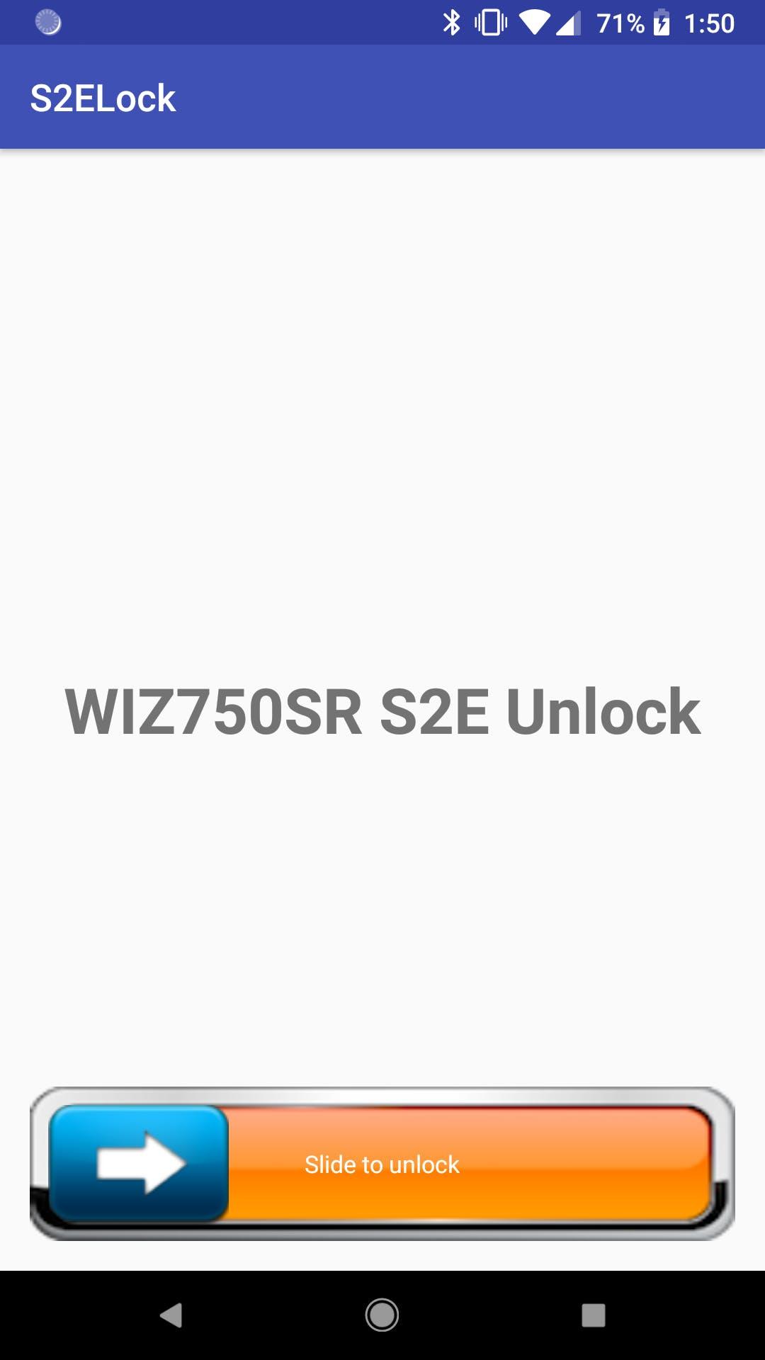 Android unlock app