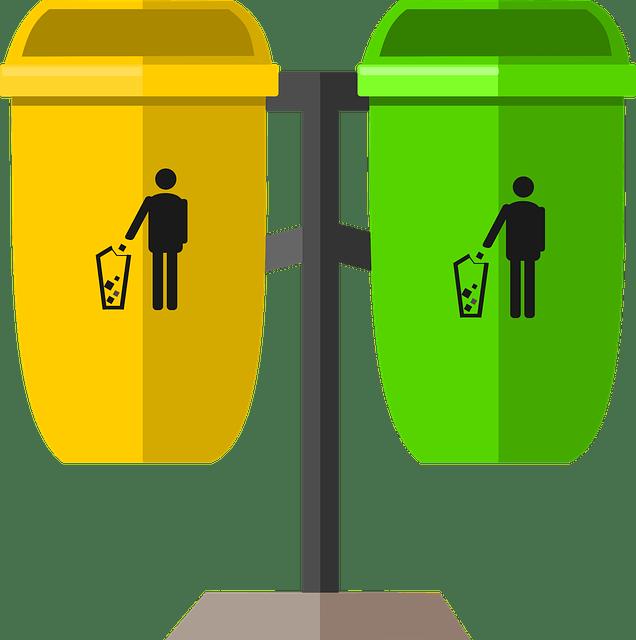 Separated Waste-Bin