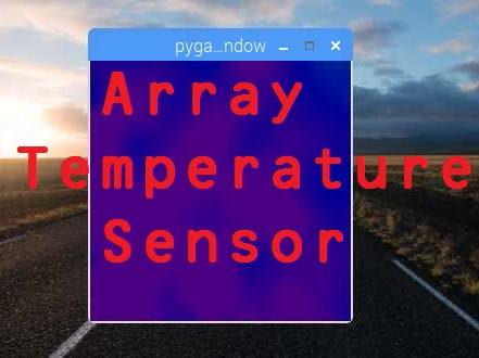 Array Temperature Sensor with Helium
