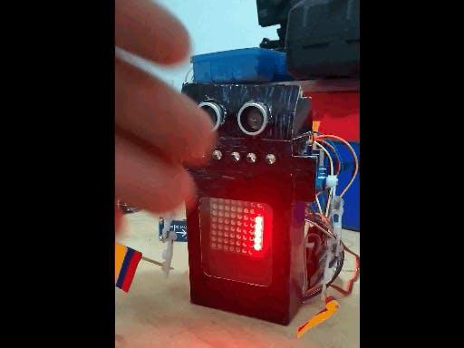 Robot Cheerleader Arduino