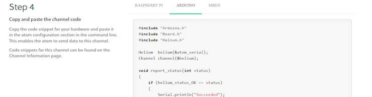 Auto generated sample code