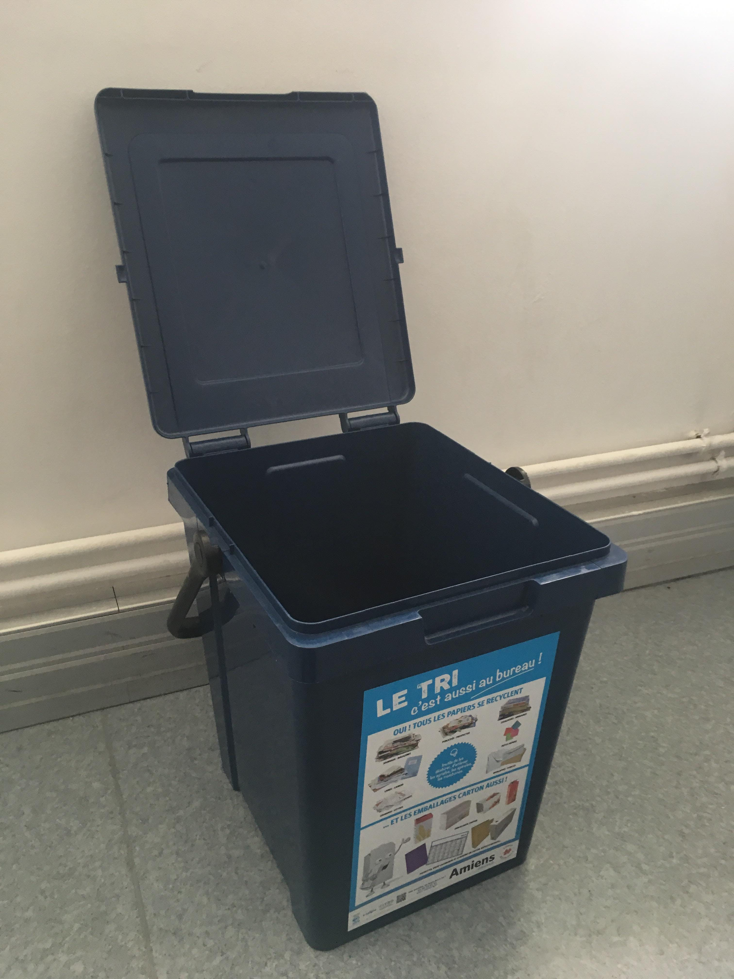 The Bin that we use to test with device.