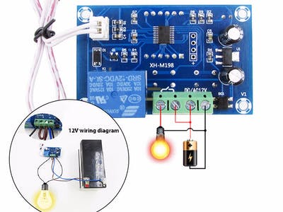DC 12V Light Control Module Photoelectric Relay Switch