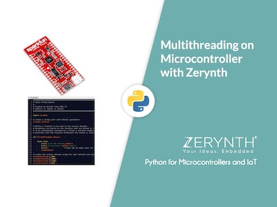 Multithreading on Microcontrollers with Zerynth