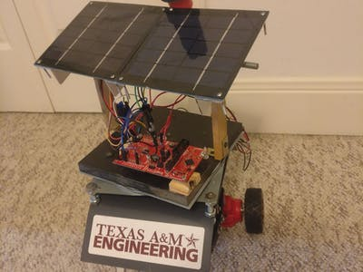 Solar Charging DSTR Robot