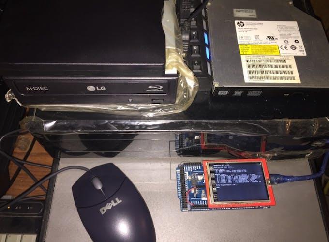 Computer Setup with External Drives