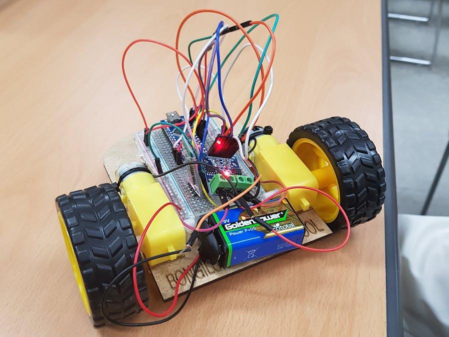 Making a Bluetooth RC Car!