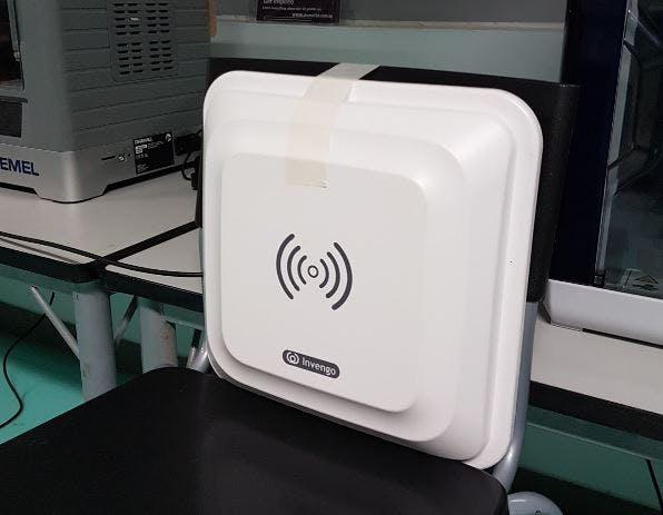 The UHF RFID antenna