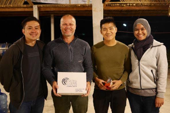 SL2 staff with Bryan Hugill