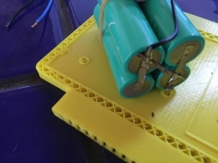 Ground side of re-solder