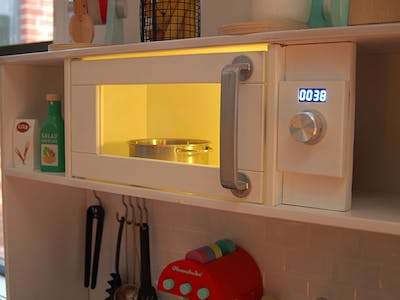 A Microwave Interface for the IKEA Duktig Kids Kitchen