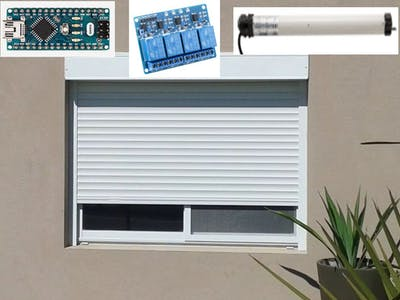 Blinds (Or Any AC Power Motor) Control