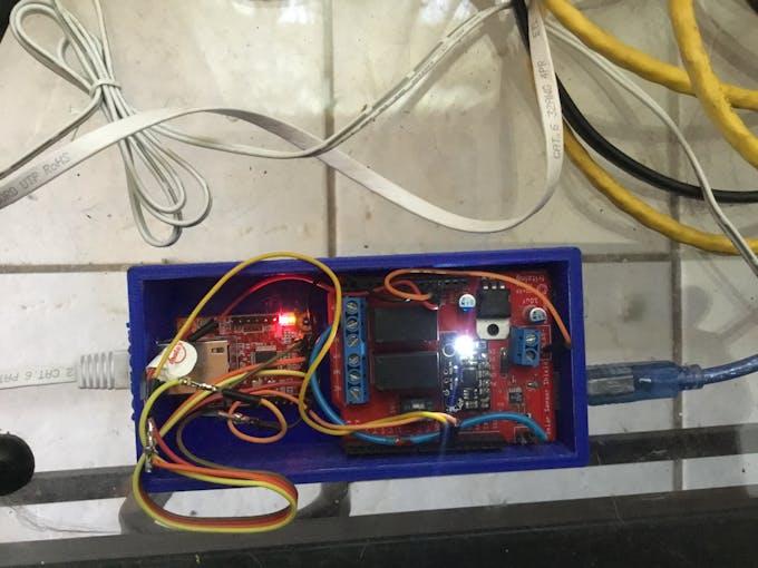 WIZnet with Power /Sensor Shield
