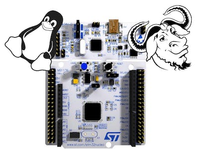 Upload Code to STM32L4, Using Linux, GNU Make, and OpenOCD